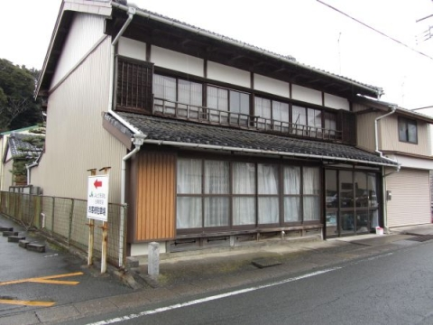 白須賀宿脇本陣跡