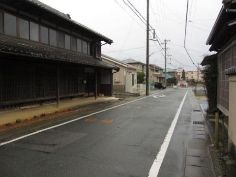 白須賀宿江戸方出入口