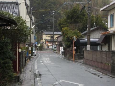 旧東海道 新居宿西外れ