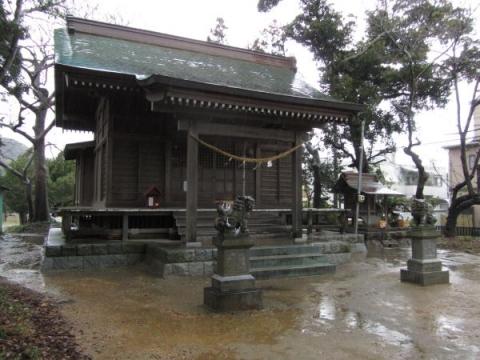 諏訪上下神社