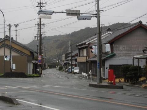 旧東海道 橋本西交差点