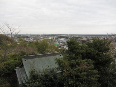 愛宕山展望台より