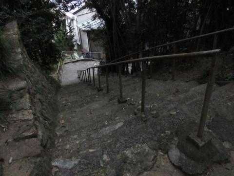 住吉神社参道石段
