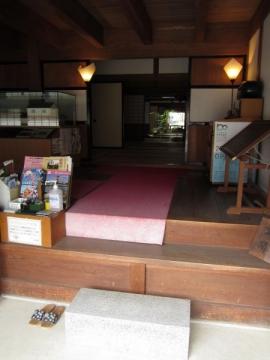 舞坂宿脇本陣・玄関