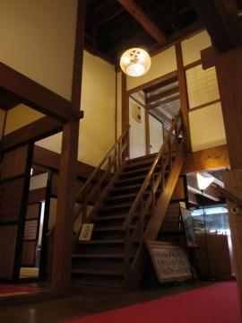 舞坂宿脇本陣・階段