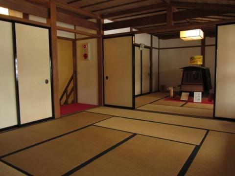 舞坂宿脇本陣・二階