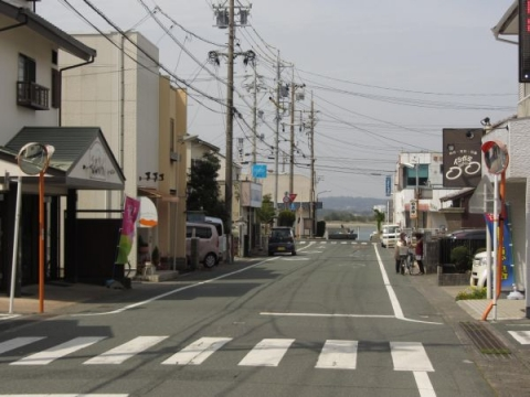 舞坂宿旧西町