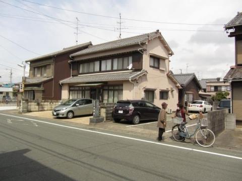 舞坂宿本陣跡