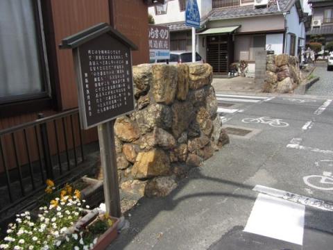 舞坂宿・見付石垣