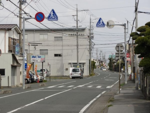 旧東海道 浜松市西区坪井町
