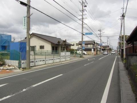 篠原村立場(茶屋)本陣跡