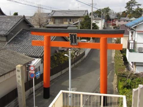 高塚熊野神社大鳥居