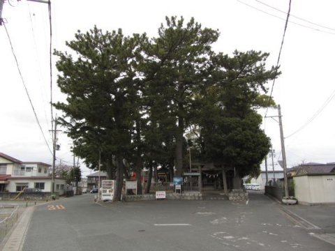東若林町の八幡神社