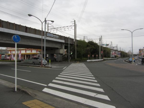 西浅田交差点