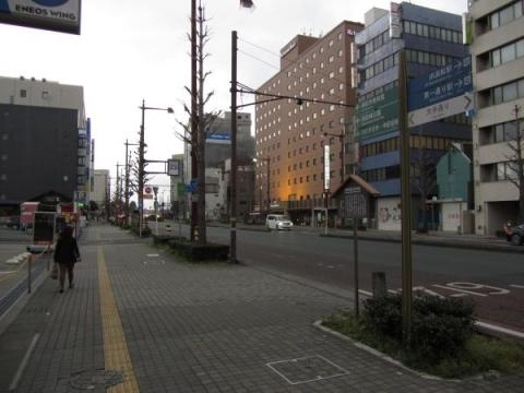 浜松城大手門跡
