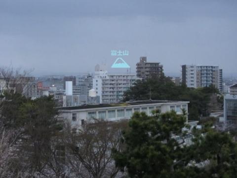 浜松城天守曲輪からの眺望