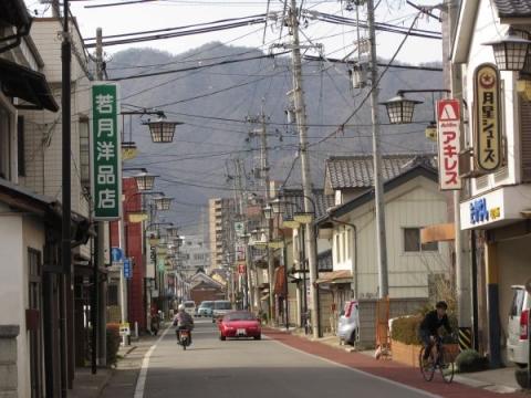 旧北国街道 常田