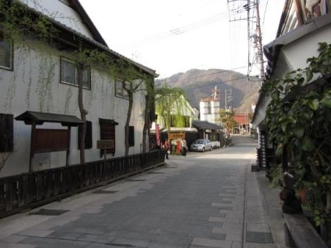 北国街道 柳町