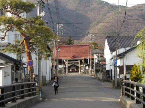 神宮橋と上田大神宮