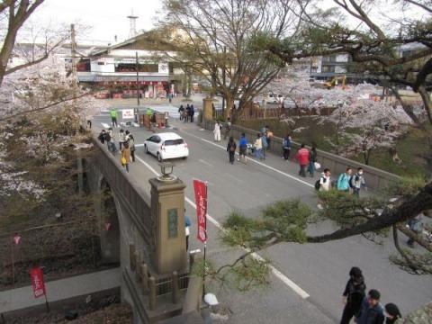 上田城二の丸橋