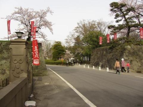 上田城二の丸東虎口
