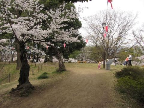 上田城本丸北西隅櫓跡
