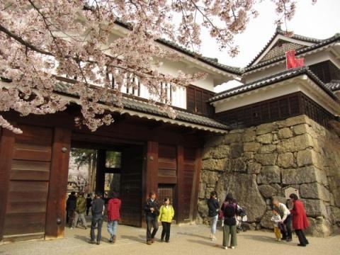 上田城櫓門・北櫓