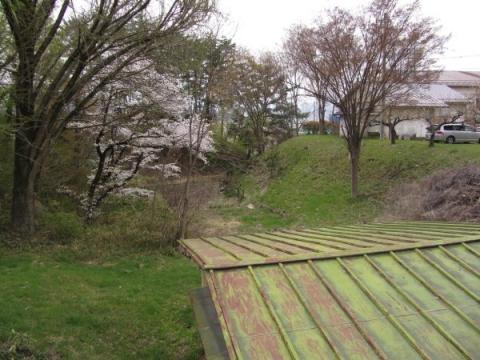 二の丸西虎口水堀跡