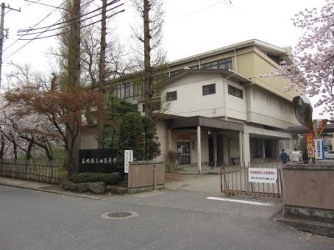 上田藩主居館(御屋敷)裏門跡