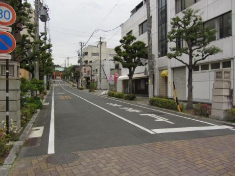 五社神社・諏訪神社参道