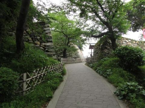 浜松城埋門跡
