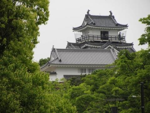 浜松城模擬天守