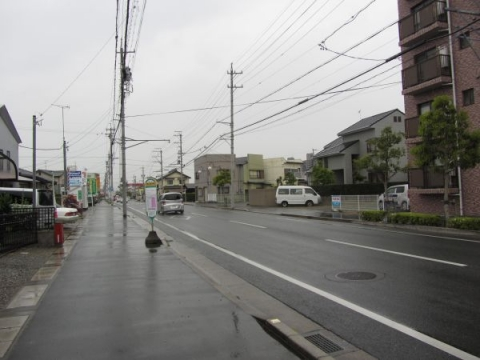 和田町バス停