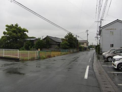 萱場の東海道松並木跡