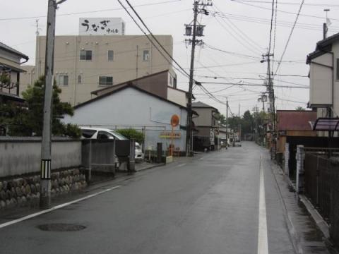 旧東海道 中野町