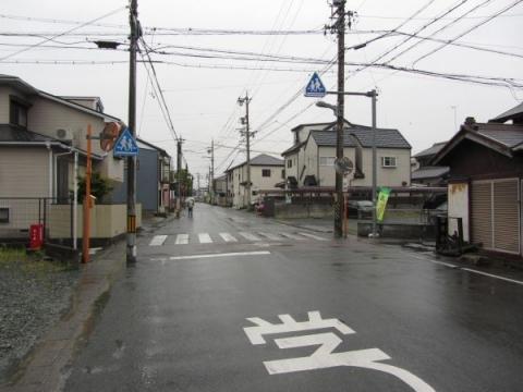 軽便鉄道軌道跡