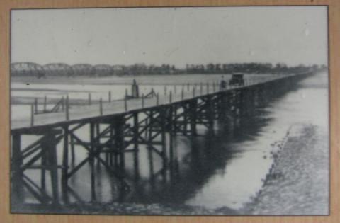 天竜橋の古写真
