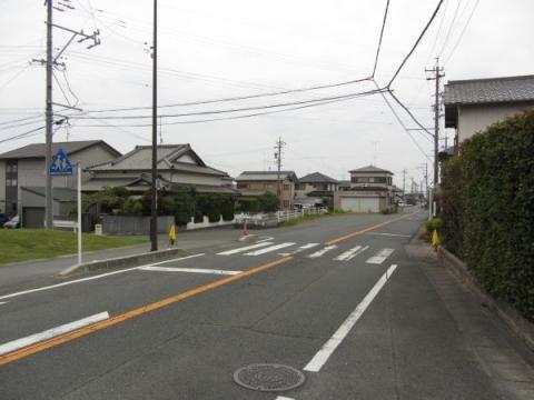 旧東海道 長森