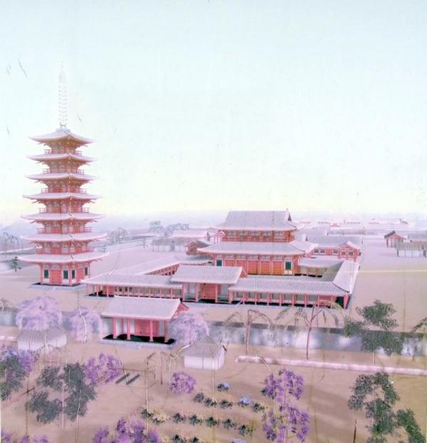 遠江国分寺想像図
