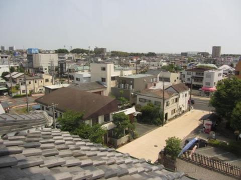 旧見付学校太鼓楼からの眺め