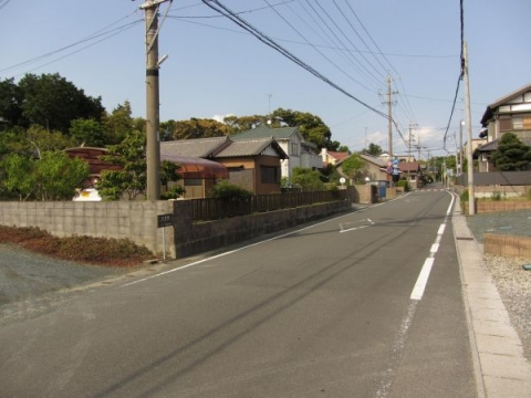 旧東海道 磐田市三ケ野