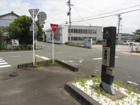 旧東海道 東新屋