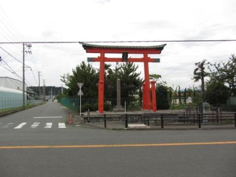 富士浅間宮赤鳥井