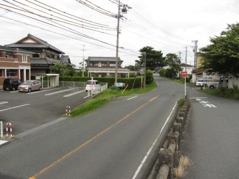 旧東海道 和光橋北詰
