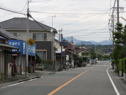 旧東海道 大池(鳥居町)