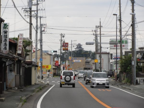 旧東海道 二瀬川