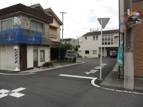 掛川宿 木町(喜町)