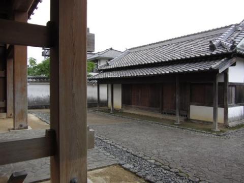 掛川城大手門番所