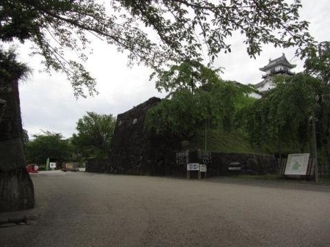 掛川城本丸門跡
