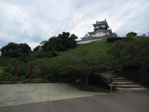 掛川城本丸と天守